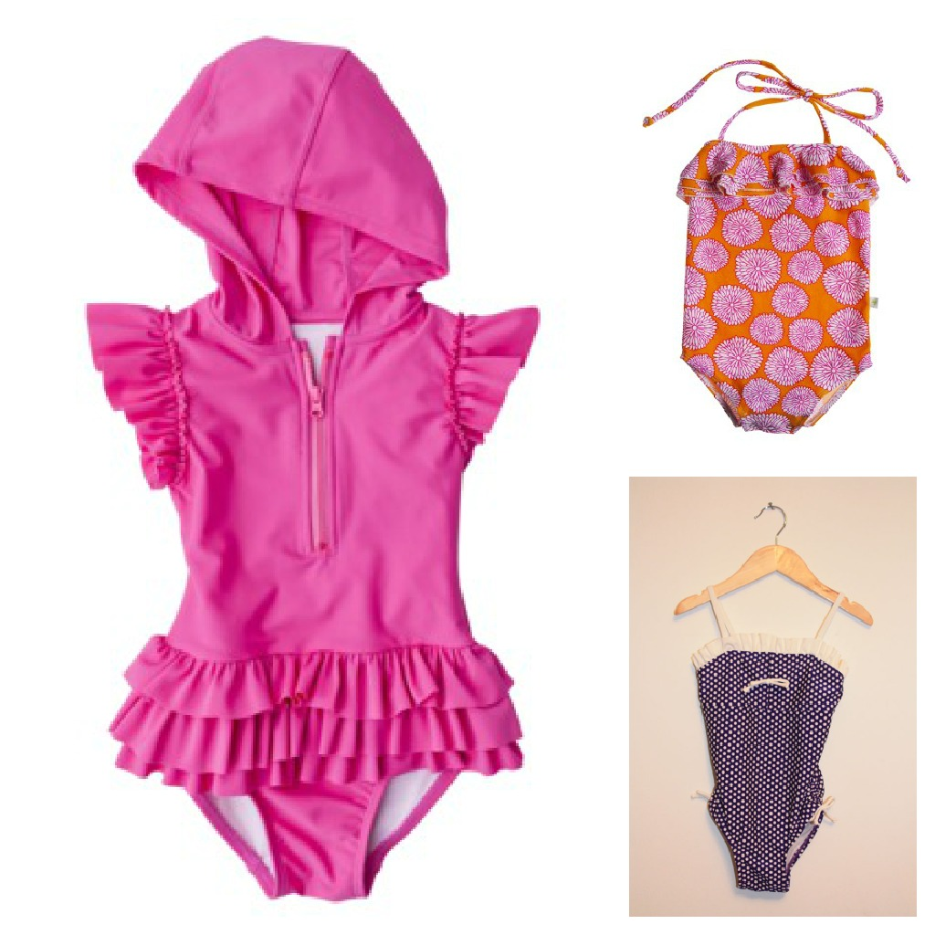 ac91a869b6317 Snap bathing suits for girls