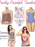 Pretty Printed Tankinis
